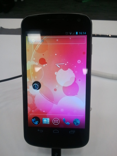 Galaxy Nexus 正面